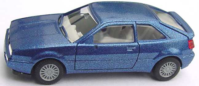 Foto 1:87 VW Corrado blau-met. herpa 030670