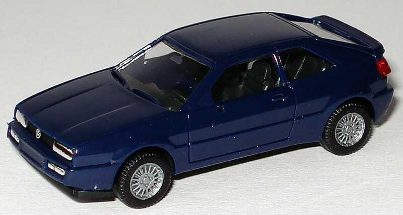 Foto 1:87 VW Corrado dunkelblau herpa 2067