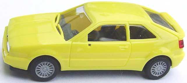 Foto 1:87 VW Corrado ginstergelb herpa 020671