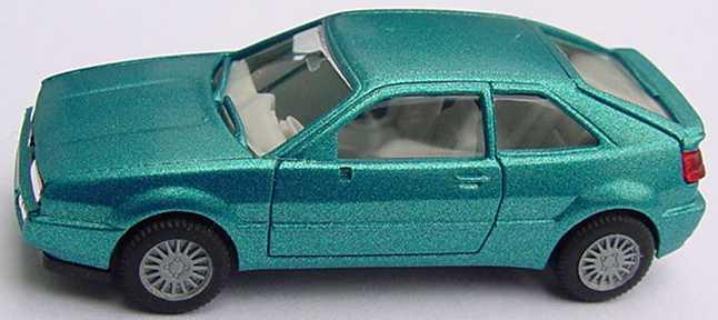 Foto 1:87 VW Corrado türkis-met. herpa 030670
