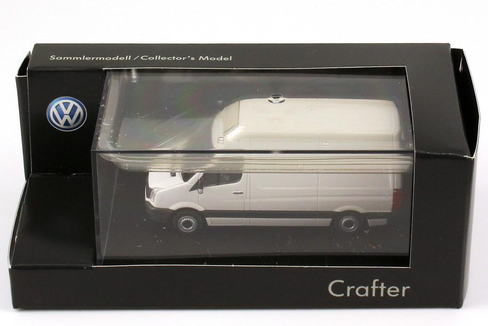 Foto 1:87 VW Crafter 2011 Kasten Hochdach candy-weiß - Werbemodell - Rietze 2E1099301B9A