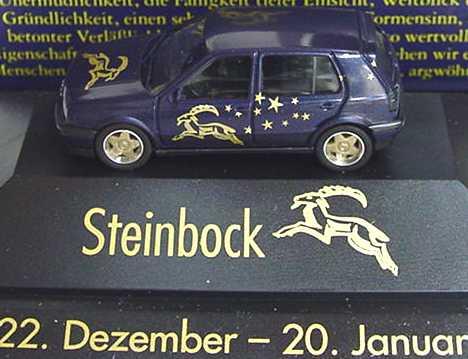 Foto 1:87 VW Golf III VR6 4türig Sternzeichen Steinbock - Astro Collection - herpa 100878