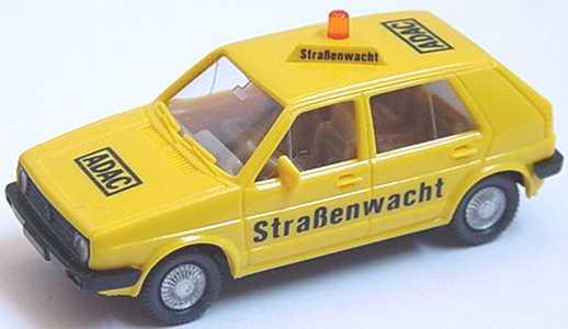 Foto 1:87 VW Golf II 4türig ADAC-Straßenwacht Wiking 048