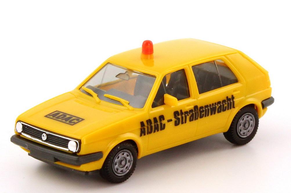 Foto 1:87 VW Golf II 4türig ADAC-Straßenwacht - herpa 4087