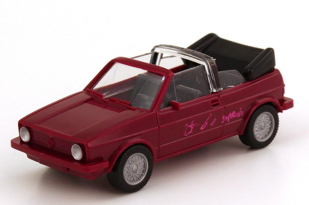 Foto 1:87 VW Golf I Cabrio violett Genesis - Wiking 04601