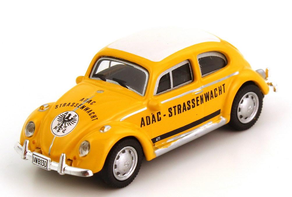 Foto 1:87 VW Käfer 1300 ADAC Strassenwacht Schuco 25215
