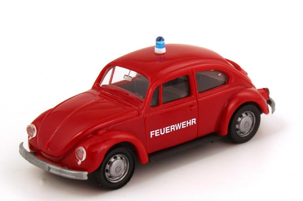 Foto 1:87 VW Käfer 1302 Feuerwehr rot AMW/AWM 0012.1
