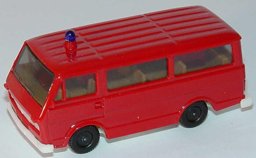 Foto 1:87 VW LT 28 Bus Feuerwehr rot (dunkel), IA beige herpa 4016/2A