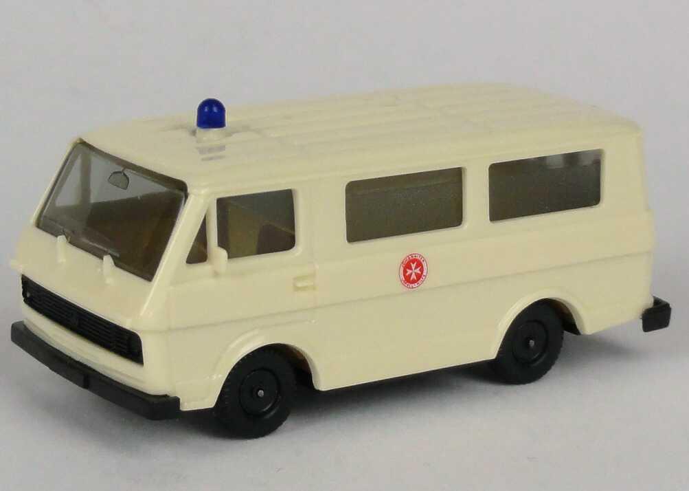 Foto 1:87 VW LT 28 Bus Johanniter-Unfall-Hilfe herpa 4013