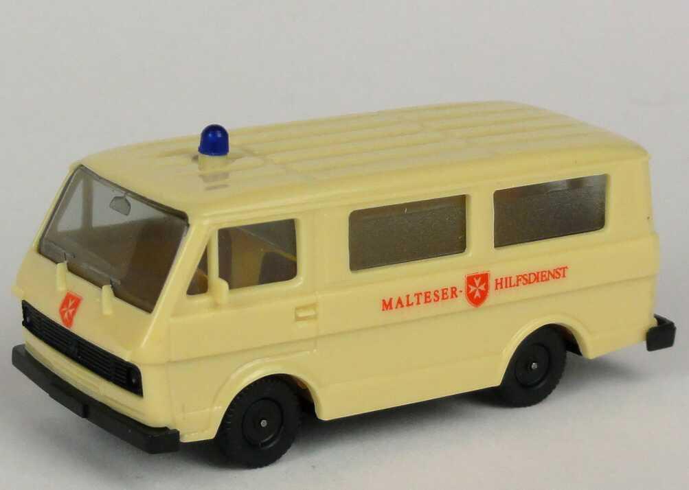 Foto 1:87 VW LT 28 Bus Malteser-Hilfsdienst herpa 4013/2A