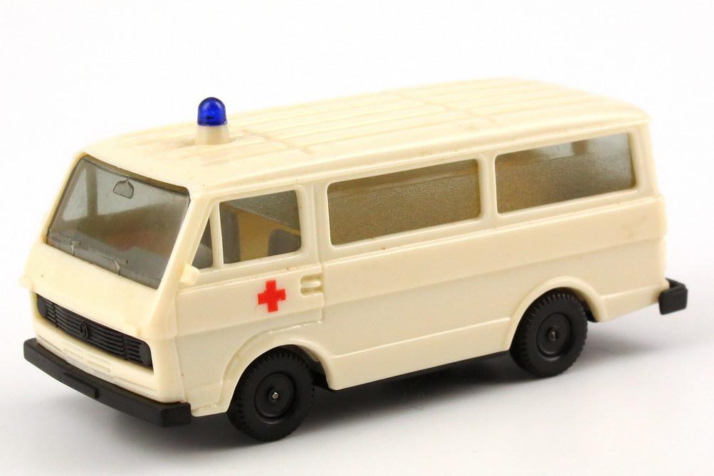 Foto 1:87 VW LT 28 Bus Rettungswagen Rotes Kreuz herpa 4013