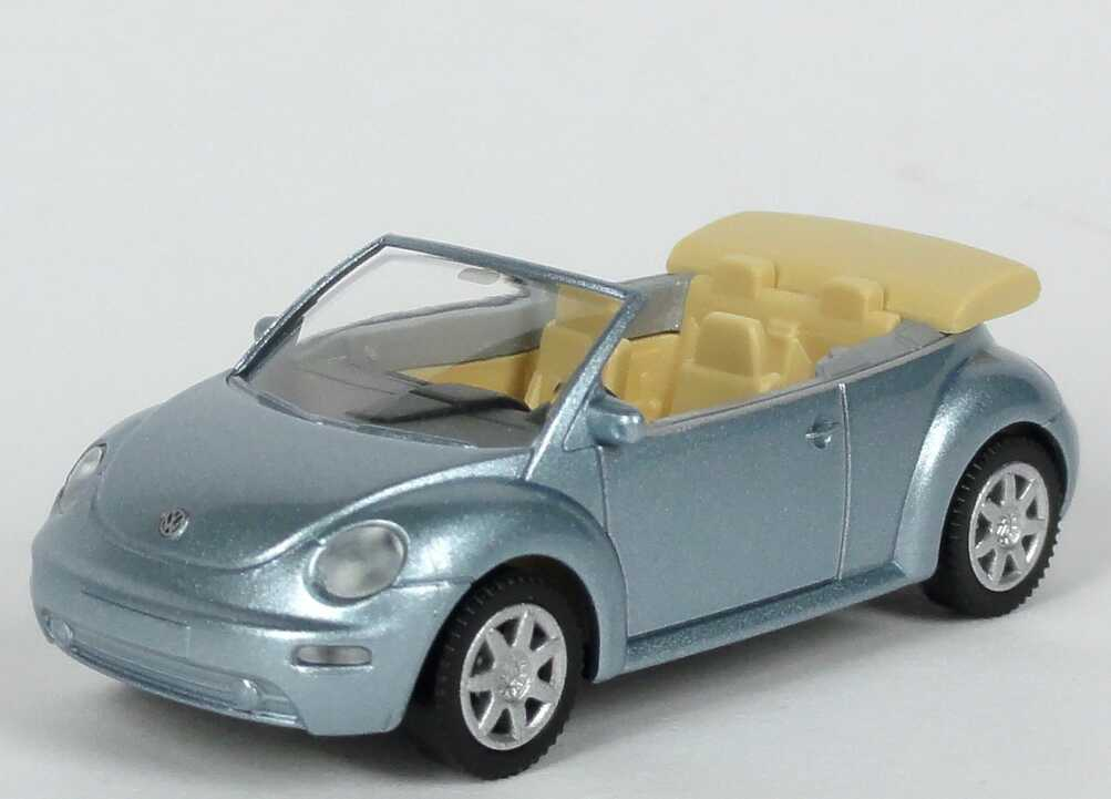 Foto 1:87 VW New Beetle Cabrio crystallblau-met. Werbemodell Wiking 1Y0099301CXH