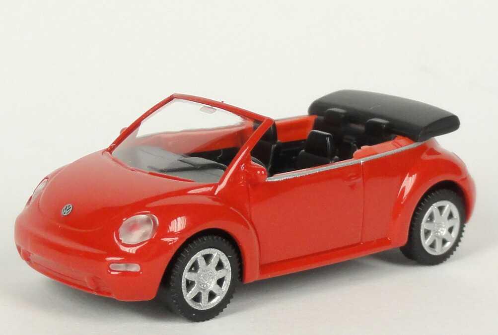 Foto 1:87 VW New Beetle Cabrio himbeerrot Werbemodell Wiking