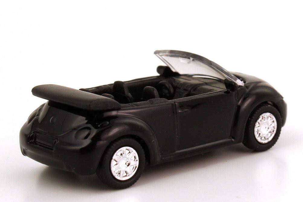 Foto 1:87 VW New Beetle Cabrio schwarz - HighSpeed
