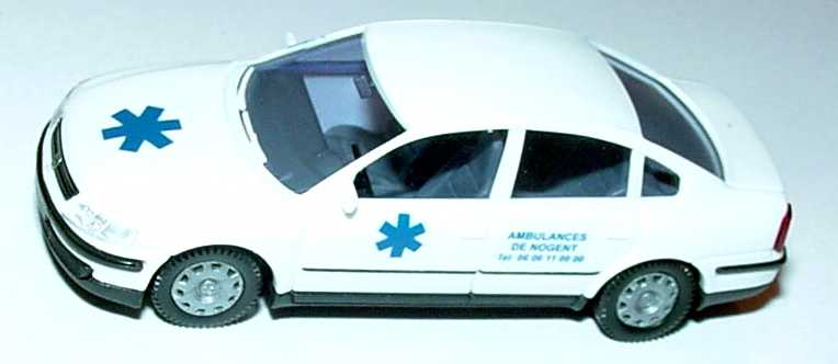 Foto 1:87 VW Passat ´97 Ambulances de Nogent AMW/AWM 51015-1