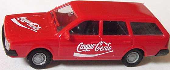 Foto 1:87 VW Passat II Variant Cinque-Cento (Coca-Cola-Look) I.M.U. 11033