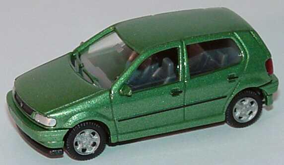4-türig Wiking VW Polo grün-metallic 0036 03