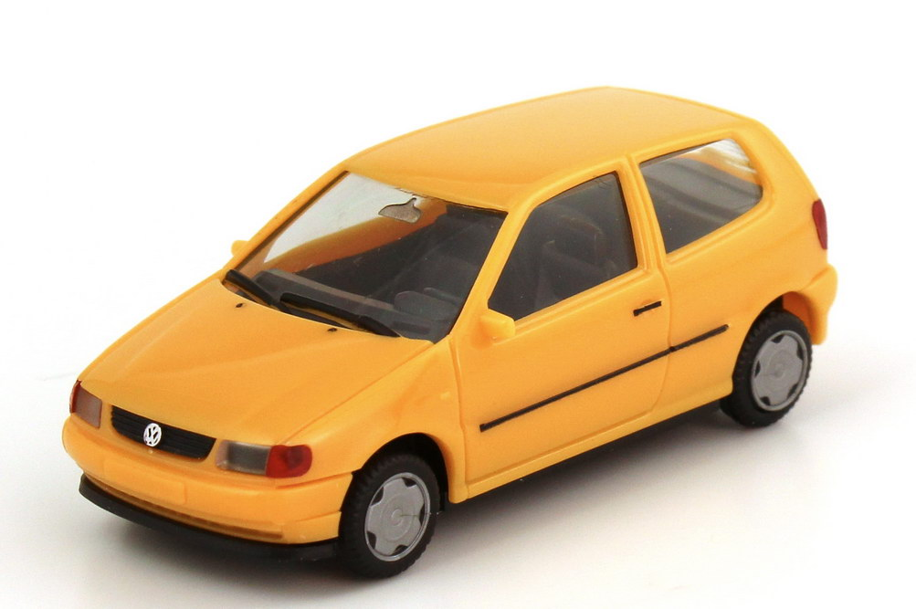 Foto 1:87 VW Polo III 2türig Typ 6N apricot-orange - herpa 021692