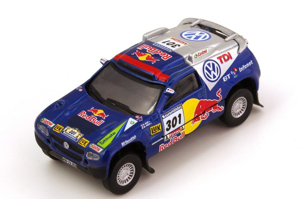 Foto 1:87 VW Race Touareg 2 Rallye Dakar 2006 VW TDI, Red Bull Nr.301, Saby/Perin Schuco AusSet25301