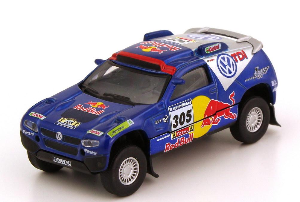 Foto 1:87 VW Race Touareg 2 Rallye Dakar 2007 VW TDI Red Bull Nr.305 Miller Pitchford - Schuco 25325