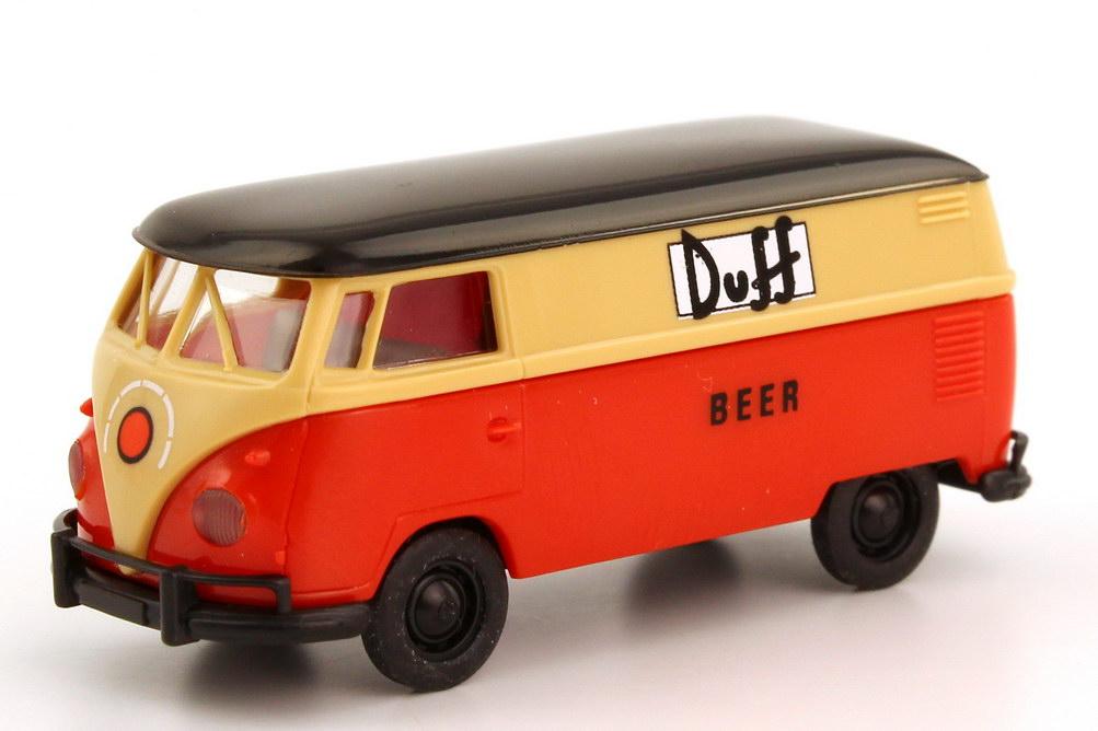 Foto 1:87 VW T1 (T1b Export) Kasten Duff Beer Brekina 32539