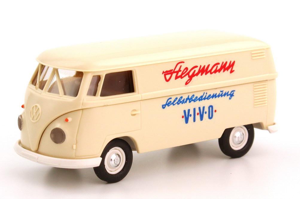 Foto 1:87 VW T1 (T1b) Kasten Stegmann  Selbstbedienung VIVO Brekina 32536