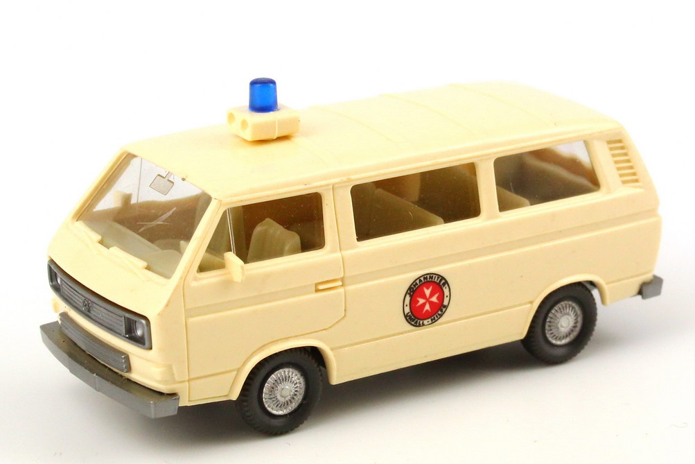 Foto 1:87 VW T3 Bus Johanniter-Unfall-Hilfe Wiking 320