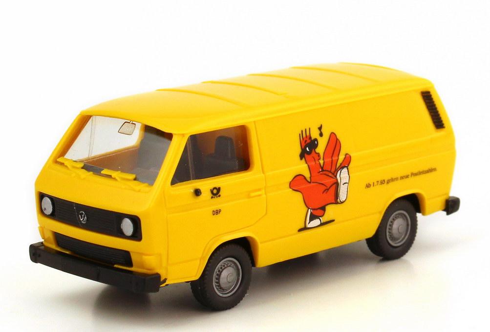 Wiking Mercedes Post Sondermodell neue Postleitzahlen 1993 Rolf in OVP TOP