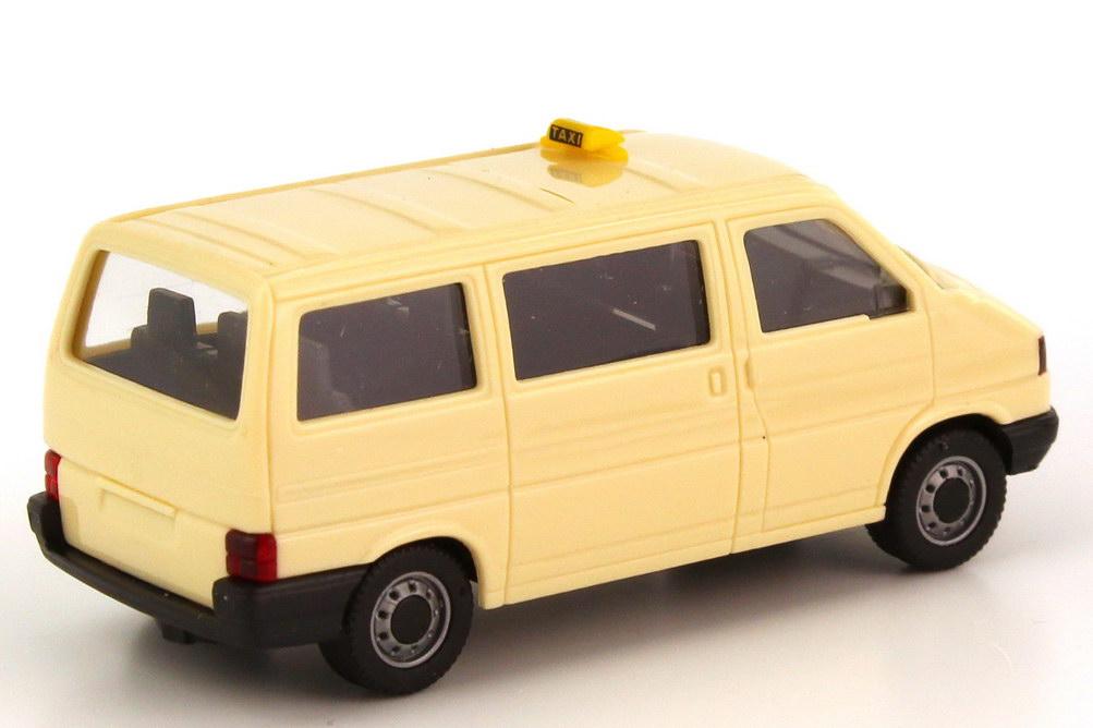 vw t4 bus caravelle taxi herpa 042437 in der. Black Bedroom Furniture Sets. Home Design Ideas