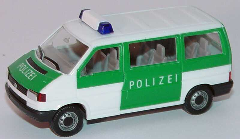 Foto 1:87 VW T4 Caravelle Polizei herpa 041874