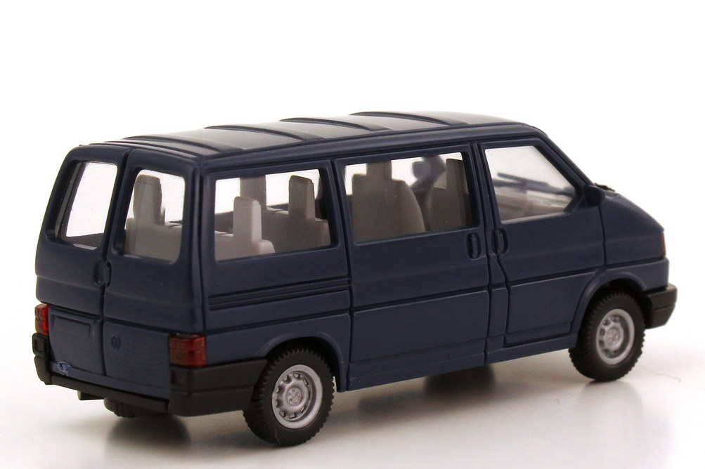 vw t4 caravelle mit heckt ren stahlblau wiking 296 in der. Black Bedroom Furniture Sets. Home Design Ideas