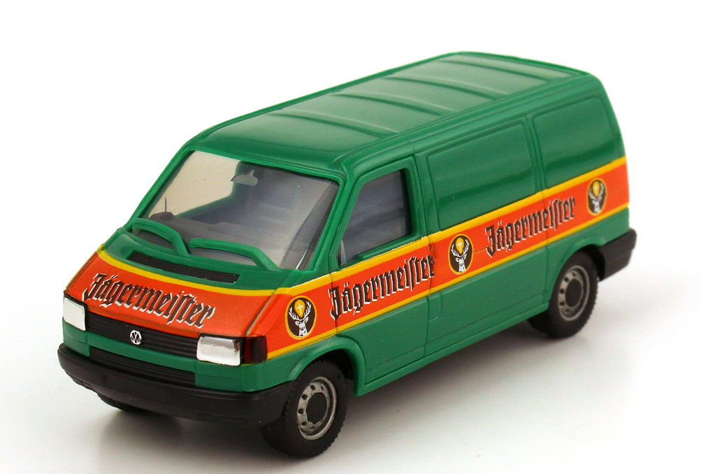 Foto 1:87 VW T4 Kasten Jägermeister herpa 184489