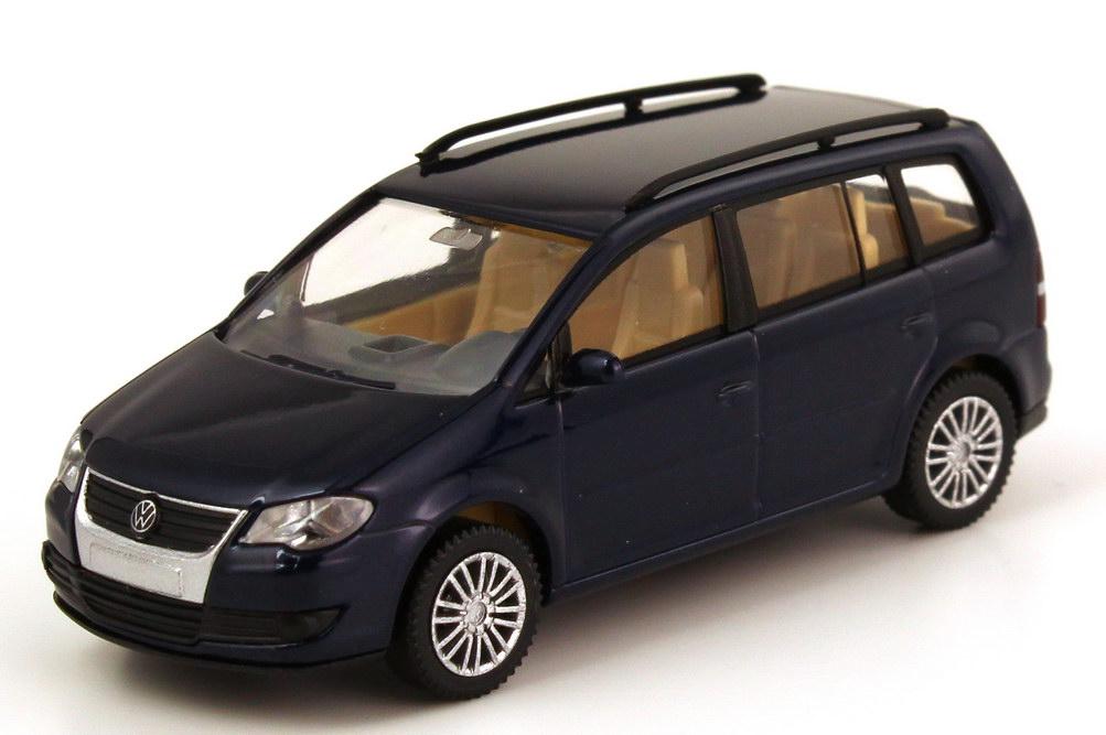 vw touran facelift typ 1t gp indien blau wiking 30540 in. Black Bedroom Furniture Sets. Home Design Ideas