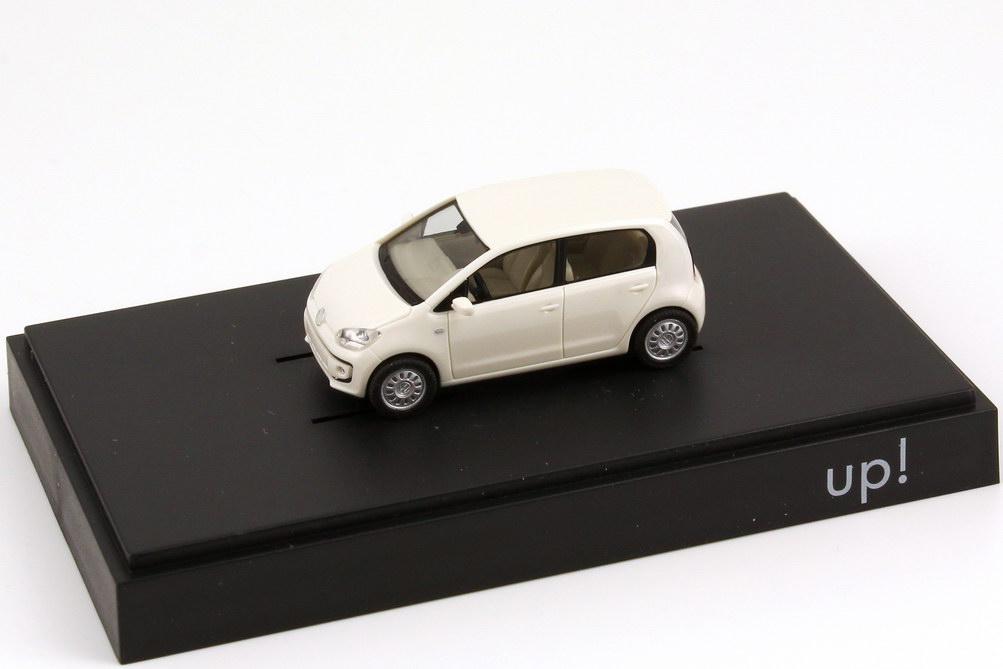 neuw.//ovp 1:87 Herpa Sammlermodell VW Up grau-weiss