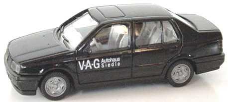 Foto 1:87 VW Vento schwarz Autohaus Siedle - Wiking