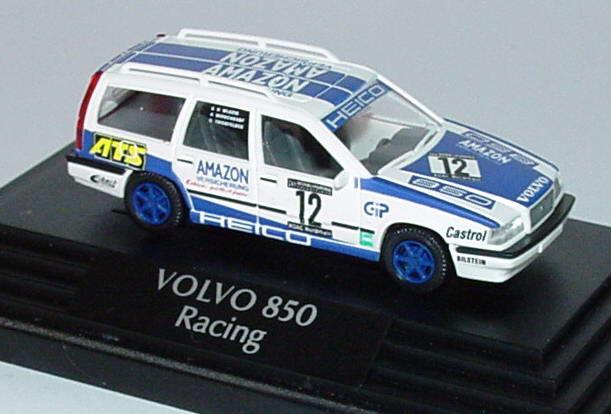 Foto 1:87 Volvo 850 Kombi 24h Nürburgring 1994  Heico, Amazon Versicherung Nr.12, Wlazik / Middendorf / Thierfelder Wiking 26402