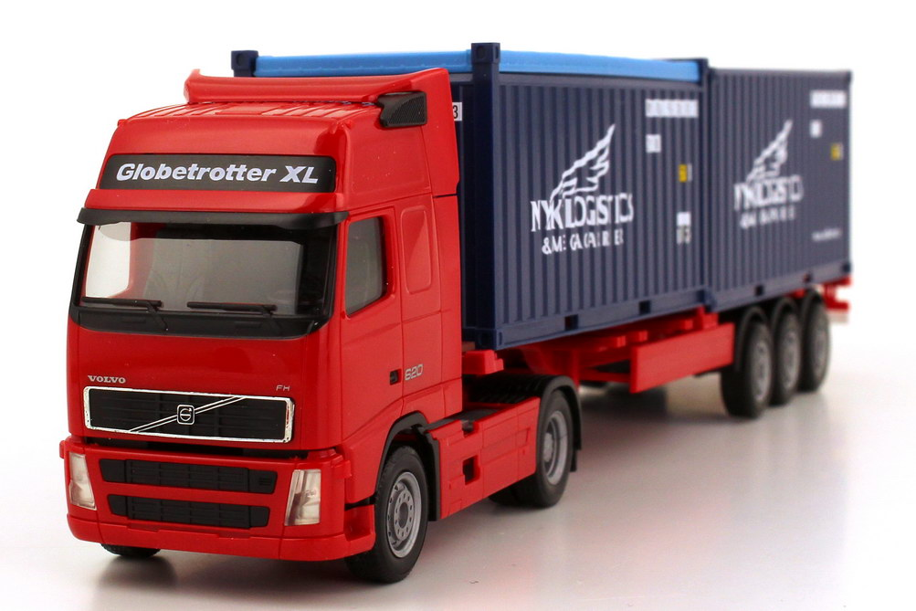 Volvo FH 16 620 Globetrotter XL Fv Cv 2x 20ft. Container-Szg 2/3 NYK Logistics herpa 154314 in ...