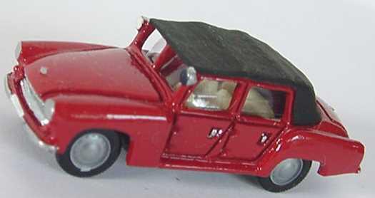 Foto 1:87 Wartburg 311 Einsatz-Limousine 1959 Feuerwehr Artapo 023