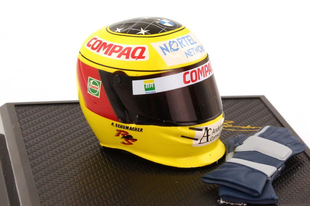 Foto 1:8 Bell-Helm Ralf Schumacher 2000 HotWheels 26139