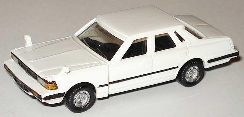 Foto 1:90 Nissan Cedric 4türig 280E (1979) weiß Furuta N-20