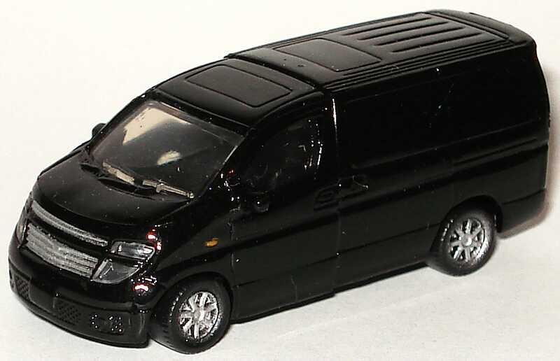 Foto 1:96 Nissan Elgrand (2002) schwarz Furuta N-26